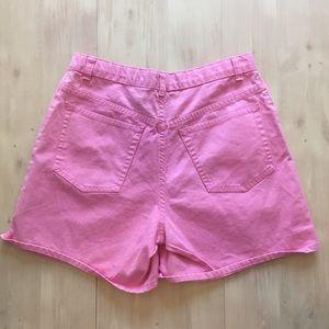 90's High Waisted gap Mom Jean shorts Pink Sz 26